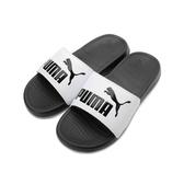 PUMA POPCAT 20 運動拖鞋 黑白 372279-09 男鞋