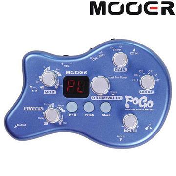 ★集樂城樂器★Mooer Pogo 隨身型 綜合效果器/內建鼓機節奏器【Multi-effects】MREG-POGO