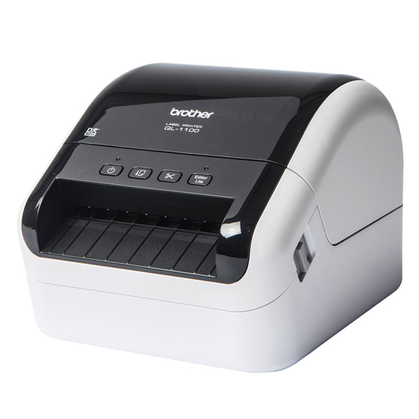 分期0利率 BROTHER BROTHER QL-1100 專業 大尺寸條碼 標籤列印機 標籤機