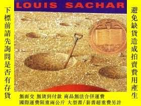二手書博民逛書店紐伯瑞獎英語有聲罕見Holes 4張聽的+電腦文本(1999年)