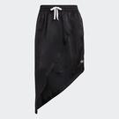 Adidas Originals SKIRT 女裝 短裙 休閒 三葉草 三條線 不對稱剪裁 黑【運動世界】GN3156