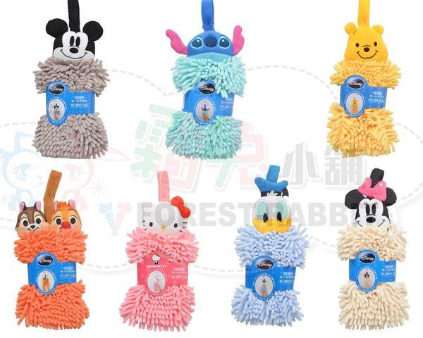 [霜兔小舖]日本 迪士尼 吸水速乾 擦手巾 kitty米奇米妮奇奇蒂蒂唐老鴨史迪奇維尼