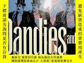 二手書博民逛書店dandies罕見and desert saints styles of victorian manhoodY