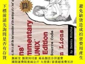 二手書博民逛書店Lion s罕見Commentary On Unix With Source CodeY364682 John