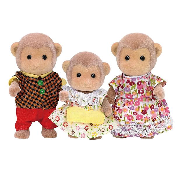 森林家族 人偶 猴子家庭