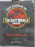 【書寶二手書T7/影視_ZAM】The Making of the Lost World-Jurassic Park_J