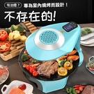 韓式3D液晶智慧烤爐 自動旋轉多功能BBQ電烤盤1400W紅外線加熱 ※僅限宅配寄送