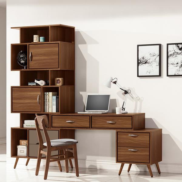 米蘭L型組合書桌(20JS1/628-4)/H&D東稻家居