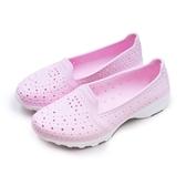 LIKA夢 GOODYEAR 固特異 排水透氣輕量美型水陸多功能休閒洞洞鞋 粉紅 82822 女
