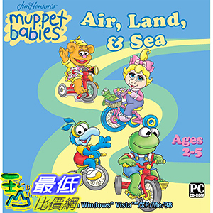 [106美國暢銷兒童軟體] Muppet Babies Air, Land and Sea Software