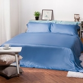 (組)托斯卡純棉床被組單人蔚藍