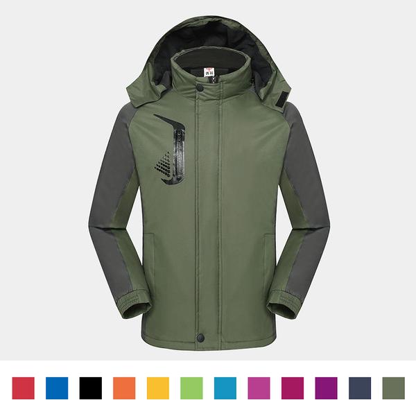 【晶輝團體制服】HM1888*經典防風防潑水衝鋒外套(似GORE-TEX)可單買/ 免費公司LOGO