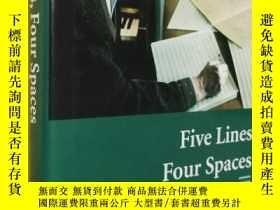 二手書博民逛書店英文原版精裝罕見Five s, Four Spaces: The World of My MusicY7215