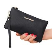 真皮手拿包女錢包長款新款簡約時尚手包零錢包皮夾小包手抓包 CIYO黛雅
