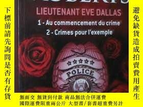 二手書博民逛書店罕見法語原版暢銷小說 Lieutenant Eve Dallas