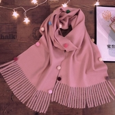 兒童圍巾秋冬季2019新款韓版男童女童圍脖寶寶加厚保暖小孩時尚潮