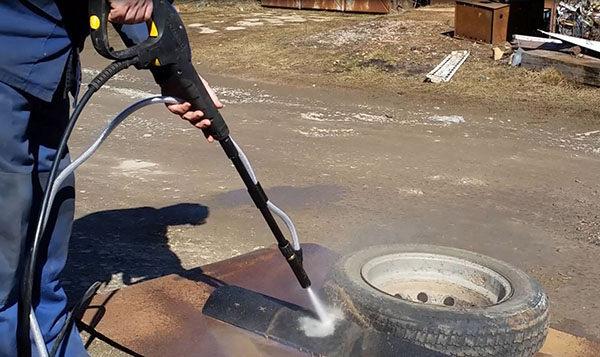 【濕式噴砂經濟方案】Karcher 德國凱馳 高壓清洗機 旗艦款K5+濕式噴砂配件 (強度優於空壓機噴砂)