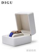 狄古新款珠寶包裝盒手鐲手錬展示盒手錶盒子單個手錶收納盒可定制『蜜桃時尚』