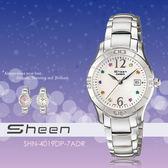 Sheen 都會女性手錶 SHN-4019DP-7ADR 生日禮物/SHN-4019DP-7A/casio 現貨+排單!