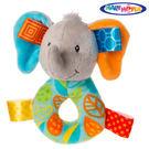 ●寶貝著迷軟綿的緞帶標籤 ●探索標籤提供寶寶觸感的刺激 ●刺激發育,有效的安撫寶寶