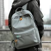 2019新款雙肩包男時尚潮流高中大學生休閒書包男士簡約旅行背包ATF 安妮塔小舖