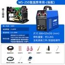 力雅鎂WS-250不銹鋼焊機工業級220V氬弧焊機家用小型兩用電焊機 艾瑞斯AFT「快速出貨」