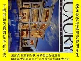 二手書博民逛書店LUXURY罕見REAL ESTATE magazine 201