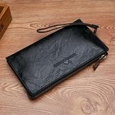 手提包手拿包 2020新款潮男士小號歐美男包包潮信封商務男錢包手包 阿卡娜