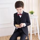 兒童西服男童小西裝套裝外套花童禮服男孩主持人鋼琴演出服韓版秋 交換禮物