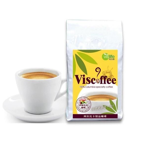 【南紡購物中心】特活綠-Viscoffee阿拉比卡精品咖啡豆(10盎司/包)