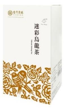 台灣農林 迷彩烏龍茶(立體茶包) 2.5gx20入/盒