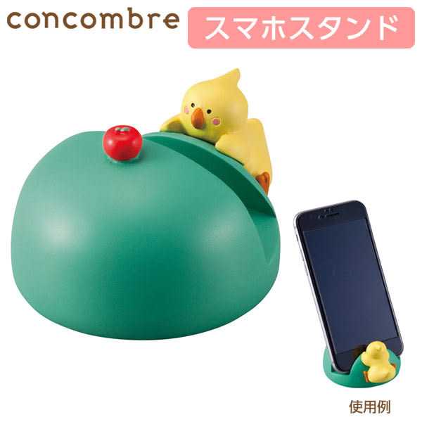 Hamee 日本 DECOLE 貪吃鬼動物 萬用手機座 造型手機架 公仔擺飾 (鸚鵡) 586-376174