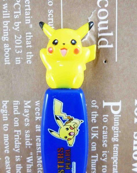 【震撼精品百貨】神奇寶貝_Pokemon~造型湯匙-皮卡丘(藍)
