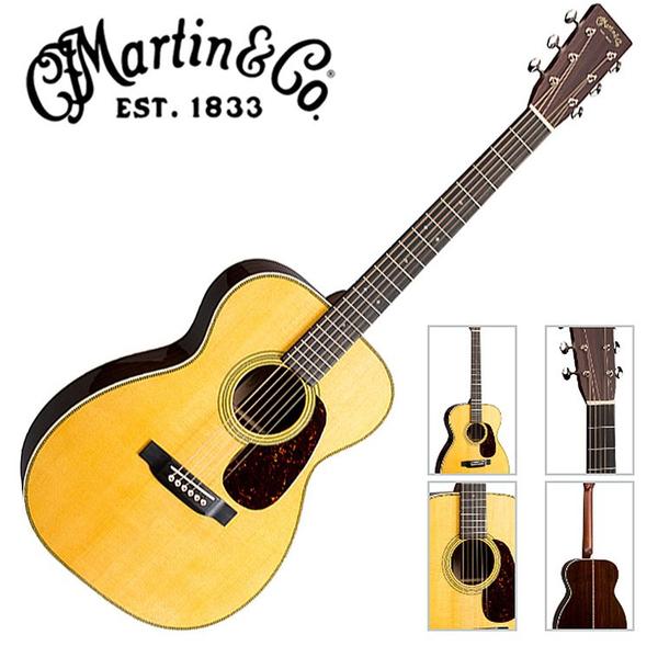 Martin 00-28 嚴選錫特卡雲杉單板 東印度紅木背側面板吉他 - 附琴盒/原廠公司貨