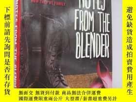 二手書博民逛書店NOTES罕見FROM THE BLENDER 《攪拌機裏的筆記