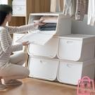 收納箱儲物箱側開衣物整理箱零食收納盒【匯美優品】