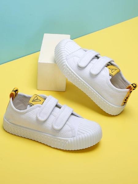 男女童帆布鞋子
