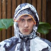 雨衣套裝雨衣雨褲套裝成人全身防水雙層加厚男女電動摩托車分體雨衣