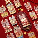 [拉拉百貨]單入售出 創意紅包 浮雕紅包袋 牛年紅包袋 老版發紅包 Q版立體紅包袋 牛年紅包袋