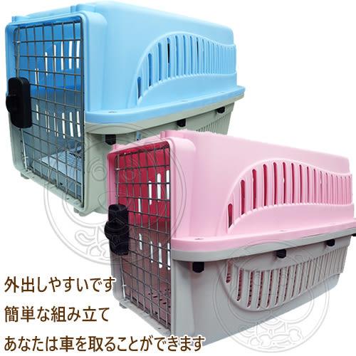【zoo寵物商城】PettyMan》E3003/04新型運輸籠(中)-58*37*37cm