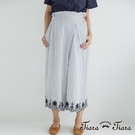 【UFUFU GIRL】條紋x花紋氣質典雅,古典氛圍褲裙款。