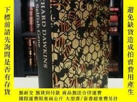 二手書博民逛書店Selfish罕見Gene《自私的基因》 Richard Dawkins 道金斯經典名著 folio societ