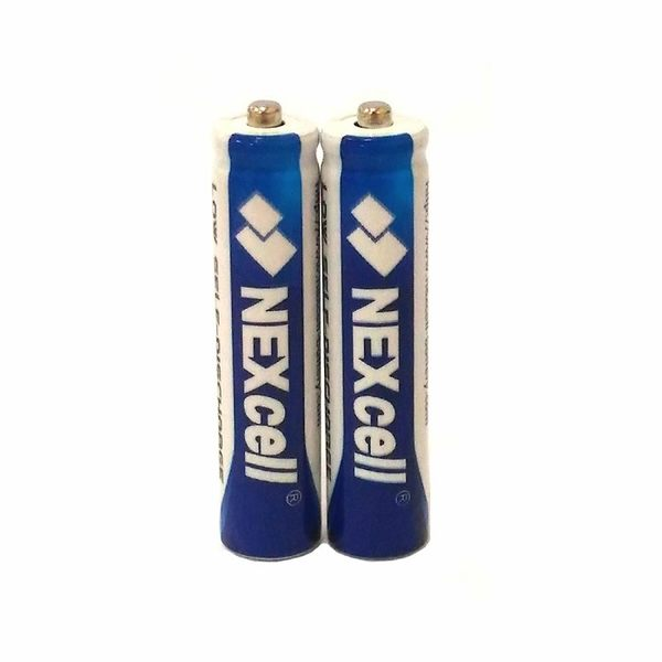 【2顆裝】NEXcell 耐能 AAA 無線電話用4號 低自放充電電池 800mAh高容量