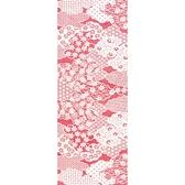 【日本製】【和布華】 日本製 注染拭手巾 粉色 和風雲海花紋圖案 SD-4985 - 和布華