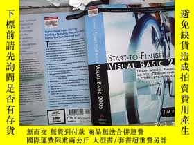 二手書博民逛書店START-TO-FINISH罕見VISUAL BASIC 2005 從開始到結束VISUAL BASIC 200