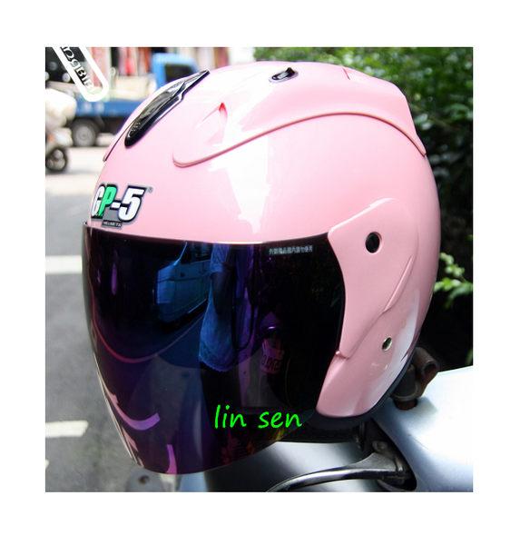 GP-5安全帽,612 素色/粉