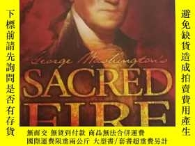 二手書博民逛書店George罕見Washington s Sacred Fire
