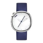 【FILA 斐樂】月蝕系列簡約風設計腕錶-帥氣藍/38-162-001/台灣總代理公司貨享兩年保固
