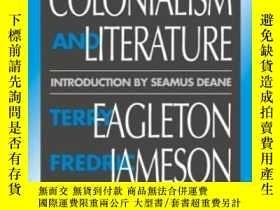 二手書博民逛書店Nationalism,罕見Colonialism, And LiteratureY256260 Terry