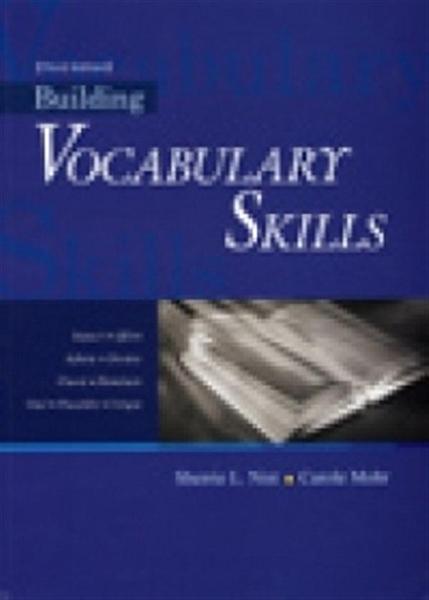 (二手書)Building Vocabulary Skills,3/e